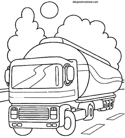 Kleurplaat Tankstation by Camion Trasporto Sostanze Pericolose Disegno Da Colorare