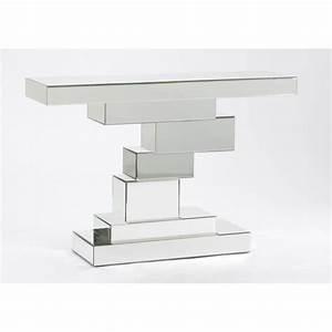 Console Miroir Pas Cher : console design miroir 118x34 cm korb amadeus achat vente console meuble pas cher couleur ~ Teatrodelosmanantiales.com Idées de Décoration