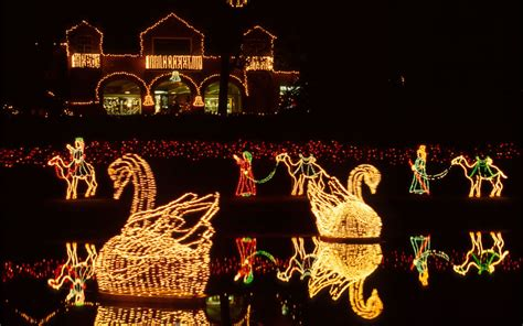 best christmas lights ever the best light displays in every state travel leisure