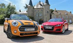 Mini Cooper Cabriolet Prix : essai comparatif audi tt roadster vs mini cooper s cabrio ~ Maxctalentgroup.com Avis de Voitures
