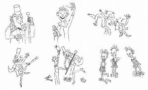 Roald Dahl Characters Free Coloring Pages