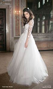 tarik ediz white 2016 wedding dresses world of bridal With tarik ediz wedding dresses