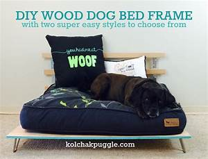 Diy wood dog bed frame page 3 of 4 kol39s notes for Bed frame with dog kennel