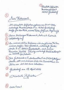 Testament Selbst Schreiben : darum ist ein testament wichtig ~ Eleganceandgraceweddings.com Haus und Dekorationen