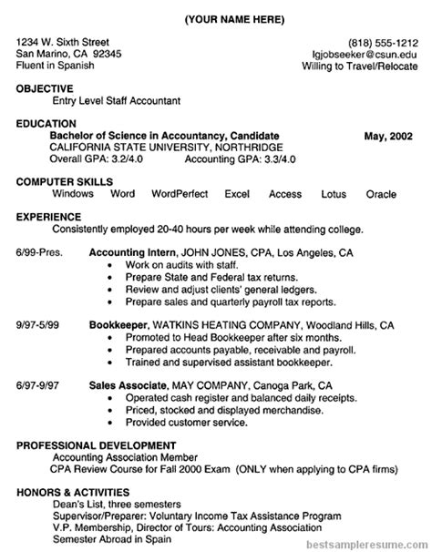 accounting clerk sle resume 28 images accountant resume sle for accounting support 28 images sle resume