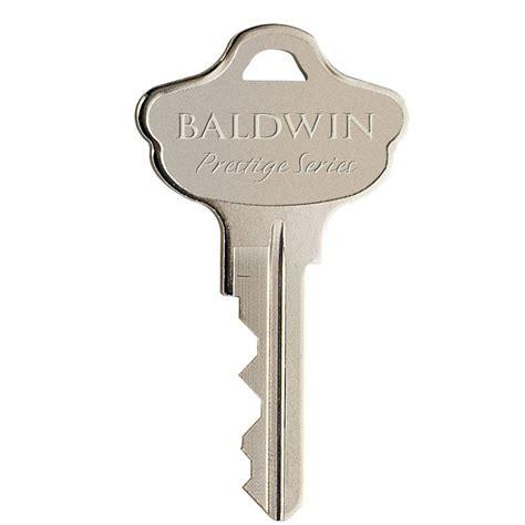 Baldwin Prestige Key Blank41570 Key Blnk Baldwin Prestige
