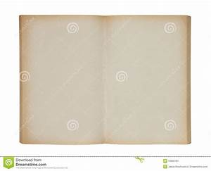 Open Old Blank Book Royalty Free Stock Photography - Image ...