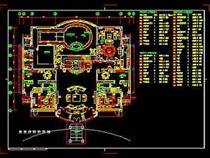 Various Kitchen Decoration Plan CAD Drawing Free Download