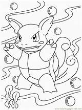 Pokemon Water Coloring Pages Coloringpages101 sketch template