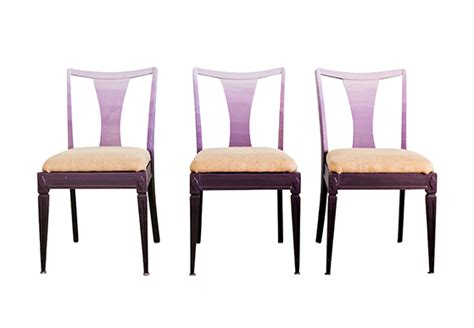 Chair Ombre by Ombre Chair Violet Ombre Chairs With Burlap Seats