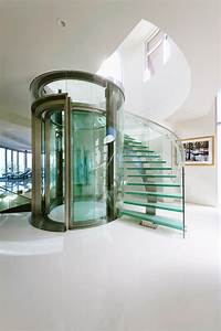 i like to built round glass lift like this