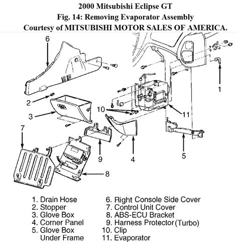 automotive air conditioning repair 2010 mitsubishi eclipse electronic valve timing 2000 mitsubishi eclipse engine diagram embly mitsubishi auto wiring diagram
