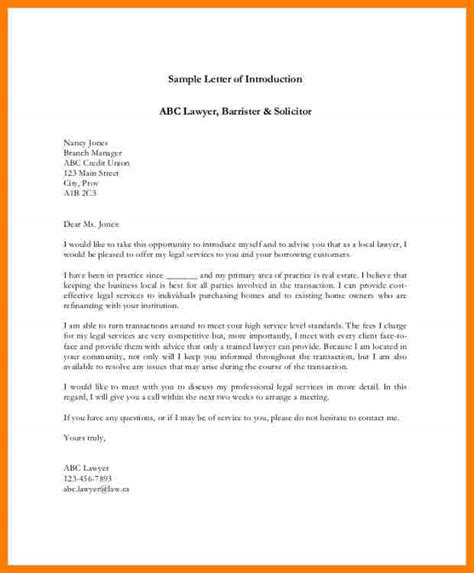 real estate agent introduction letter letter flat