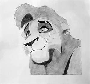 Image Gallery Lion King 2 Drawings Kovu Portrait By WolfAyron On DeviantArt