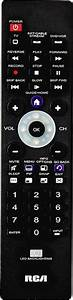 Rca 3-device Universal Remote Black Rcr003rwd