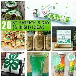 Great Ideas -- 20 St. Patrick's Day {& Irish} Ideas ...