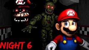 THE NIGHTMARE IS NOT OVER. || Mario In Animatronic Horror ...