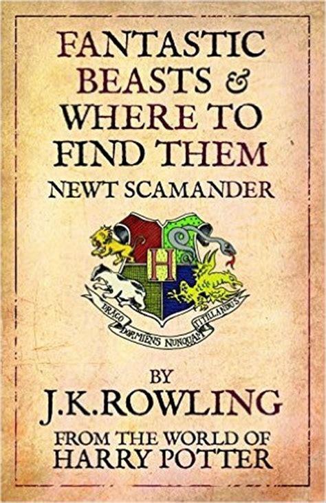 Jk Rowling's Fantastic Beasts Has Fantastic Books…but Will