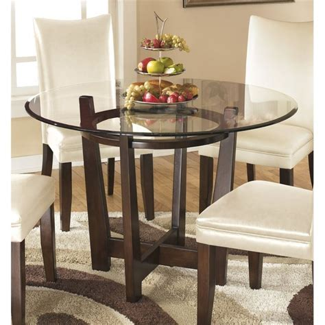 Best 25+ Glass Round Dining Table Ideas On Pinterest