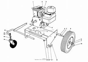 Toro 62923  5 Hp Lawn Vacuum  1987  Sn 7000001