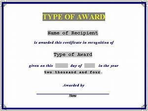 Editable Award Certificate Of Achievement Template Paper ...