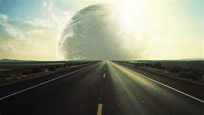 Put Desktop Fake Planets Wallpapers Road Trip