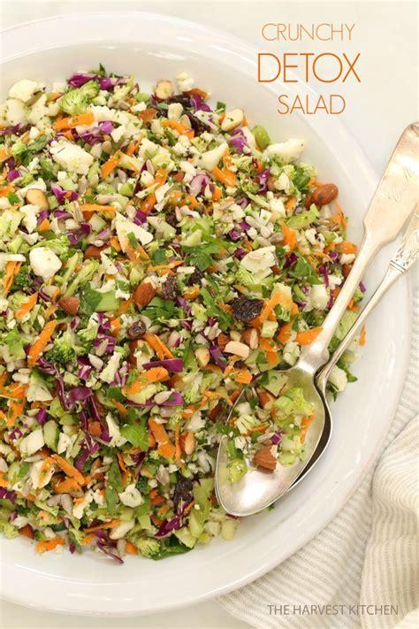 crunchy detox salad  harvest kitchen