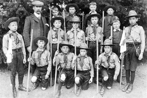 Scouting History - Farnham Scouting