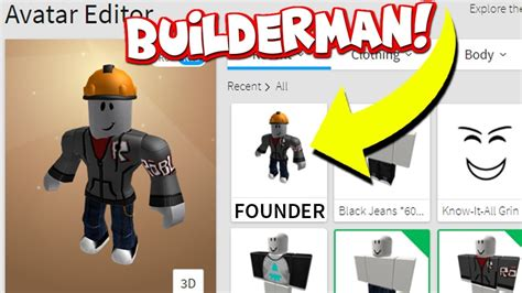 creator  roblox builderman youtube