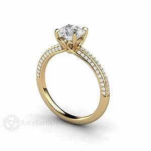 1000+ images about Diamond Alternative Engagement Rings on ...