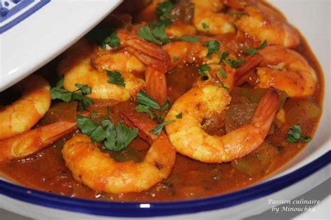 recette de cuisine avec des crevettes tajine aux crevettes culinaire by minouchka