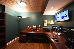 basement office ideas basement masters With basement home office ideas 2