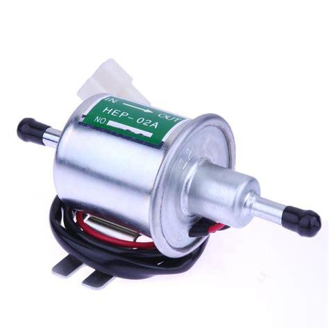 Universal 12v Car Electric Petro Fuel Pump Facet Cylinder