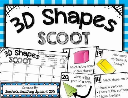 Shapes 3d Solid Scoot Math Shape Teacher