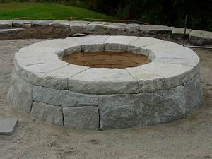 Raised, Patio, And, Fire, Pit, Freeport, Maine