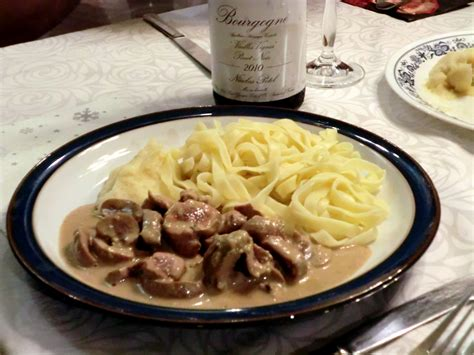 la cuisine de michel rognons de veau sauce moutarde régal d alain la cuisine
