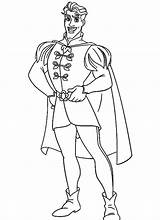 Prince Coloring Pages Frog Philip Charming Princess Handsome Drawing Cinderella Disney Printable Getcolorings Getdrawings Popular Template sketch template