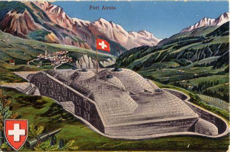 Sasso San Gottardo Bei Airolo by Forte Airolo Fortificazioni Ticinesi