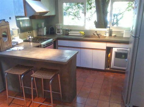 mesadas de cemento alisado buscar  google cocinas