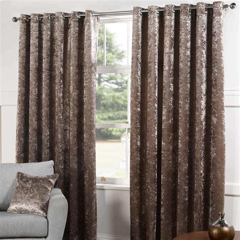 sundour plush lined eyelet curtains chagne