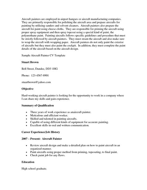 Industrial Painter Resume Sle by Painter And Decorating Resume Sales Painter Lewesmr