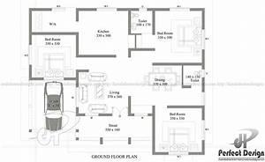 1290 SQ. FT CONTEMPORARY HOME – Kerala Home Design