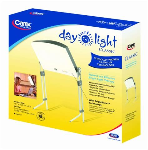 seasonal affective disorder l amazon day light classic 10 000 lux bright light therapy l