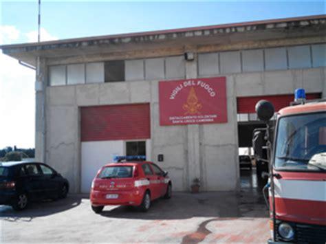 Ufficio Concorsi Vigili Fuoco - carenza di vigili fuoco minardo chiusura di s croce