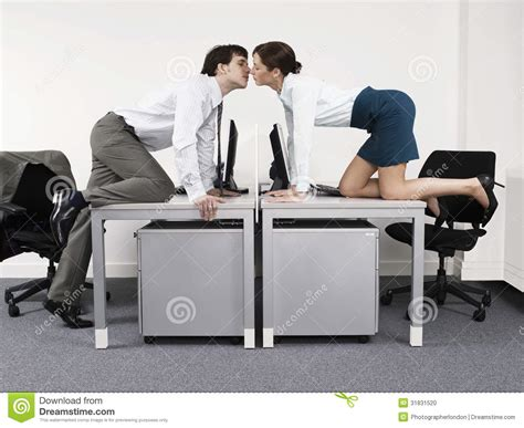 11355 office desk photography business desks in office stock photo