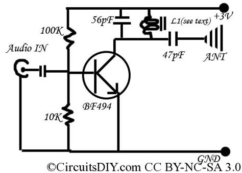 The Simplest Transmitter Ever Made Circuits Diy