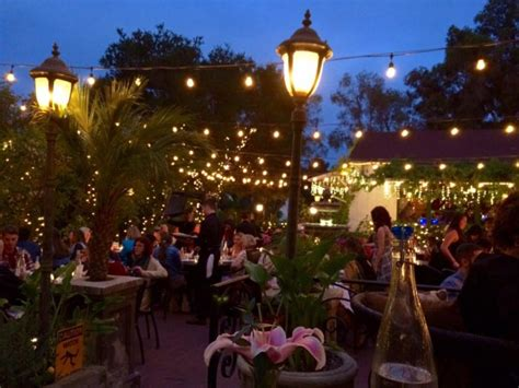 southern california restaurants  magical outdoor dining