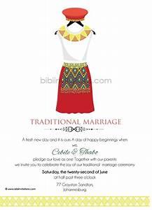 buhle zulu umembeso tradtional wedding invitation zulu With zulu traditional wedding invitations cards