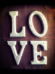 17 best images about crackle paint on pinterest drawer With burlap wooden letters