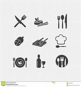 Vector Restaurant Food Icon Menu Cuisine Stock Vector ...